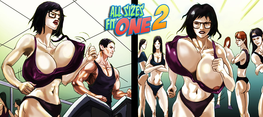 ALL SIZES FIT ONE 02 - Breast Expansion comic